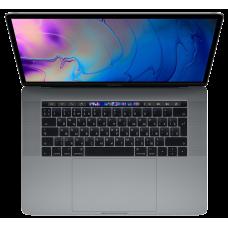 "Ноутбук Apple MacBook Pro 15"" Core i7 2,2 ГГц, 16 ГБ, 256 ГБ SSD, Radeon Pro 555X, Touch Bar «серый космос»"