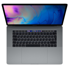 "Ноутбук MacBook Pro 15"" Core i7 2,6 ГГц, 16 ГБ, 256 ГБ SSD, Radeon Pro 555X, Touch Bar, серый космос"