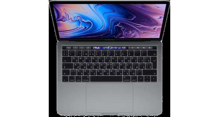 "Ноутбук MacBook Pro 13"" QC i5 1,4 ГГц, 8 ГБ, 128 ГБ SSD, Iris 645, серый космос"