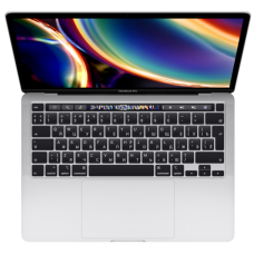"Ноутбук MacBook Pro 13"" QC i5 1,4 ГГц, 8 ГБ, 256 ГБ SSD, Iris Plus 645, Touch Bar, серебристый"