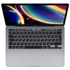 "Ноутбук MacBook Pro 13"" QC i5 1,4 ГГц, 8 ГБ, 256 ГБ SSD, Iris Plus 645, Touch Bar, серый космос"