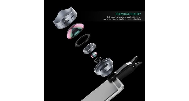 Объектив AUKEY PL-BL02 3X  HD Telephoto Lens (ритейл)