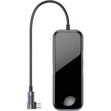 USB-концентратор Baseus Mirror Series Multifunctional Wireless Charger USB-C CAHUB-AZ0G