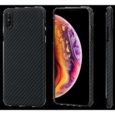 Чехол PITAKA MagCase Для IPhone Xs Max Черно-Серый В Полоску