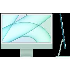 "iMac 24"" Retina 4,5K, M1 (8C CPU, 7C GPU), 8 ГБ, 256 ГБ SSD, зеленый"