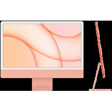 "iMac 24"" Retina 4,5K, M1 (8C CPU, 8C GPU), 8 ГБ, 256 ГБ SSD, оранжевый"
