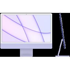 "iMac 24"" Retina 4,5K, M1 (8C CPU, 8C GPU), 8 ГБ, 256 ГБ SSD, фиолетовый"