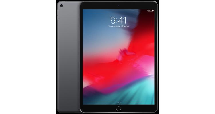 Планшет iPad Air 3 (2019) Wi-Fi 256 ГБ «серый космос»