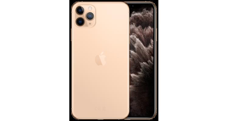 Смартфон iPhone 11 Pro Max 256 ГБ золотой