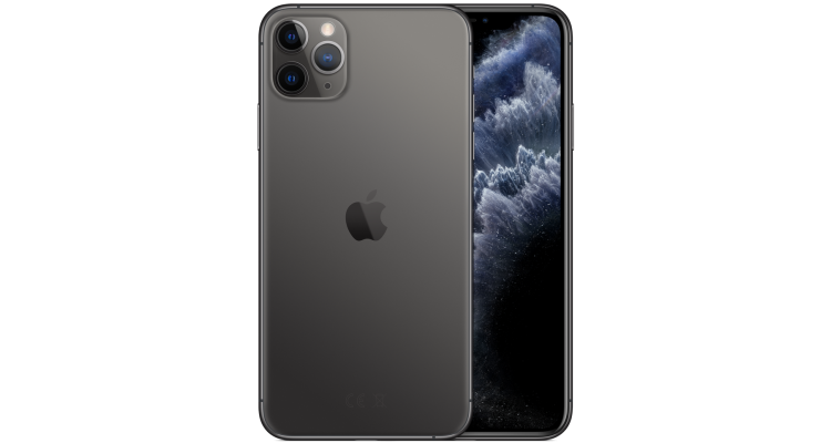 Смартфон iPhone 11 Pro Max 256 ГБ серый космос