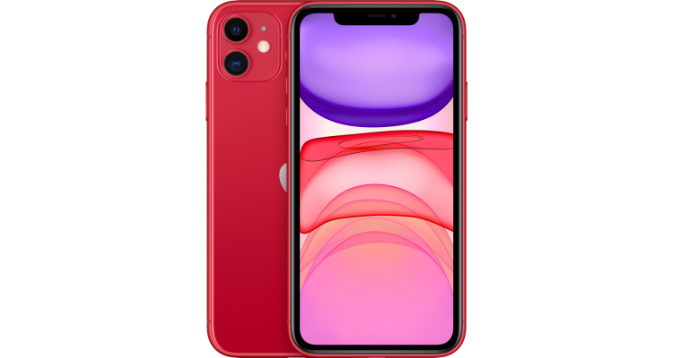 Смартфон iPhone 11 64 ГБ RED