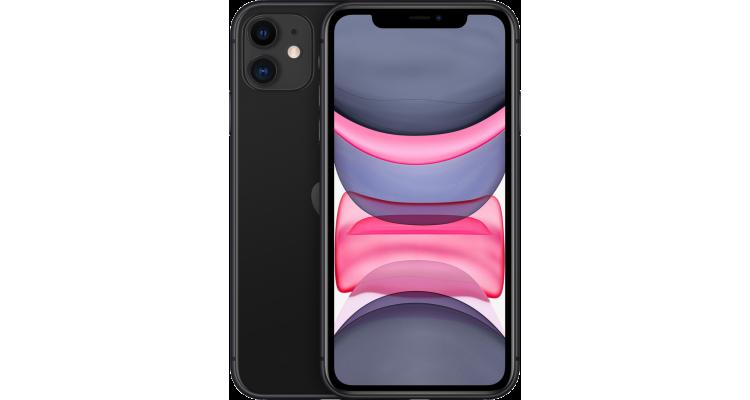 Смартфон iPhone 11 128 ГБ черный